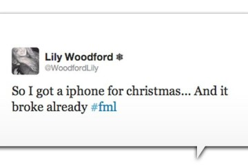 Funny iPhone Tweets