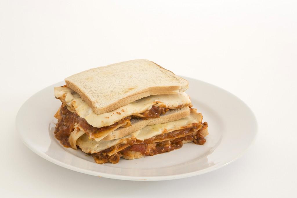 Lasagne Sandwich
