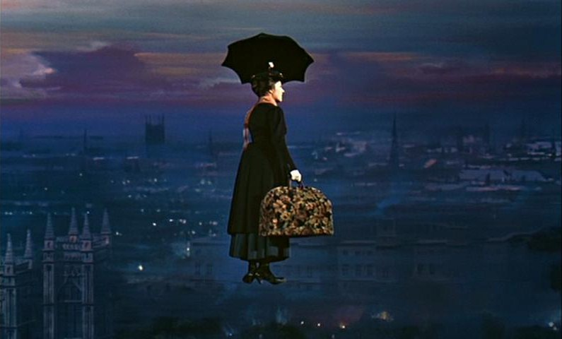 People of England, raise your standard umbrellas and join me in the sky