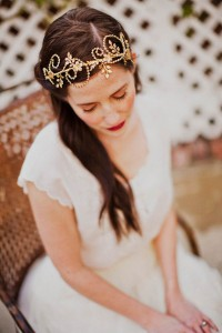 Brass headband