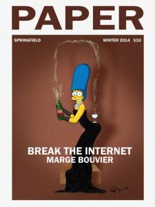 Marge Bouvier Simpson - Break the Internet