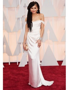 Zendaya Coleman at the Oscars