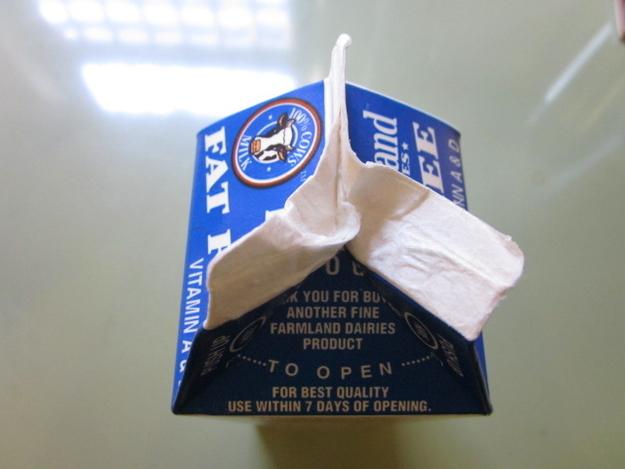 Milk Cartan opening fail