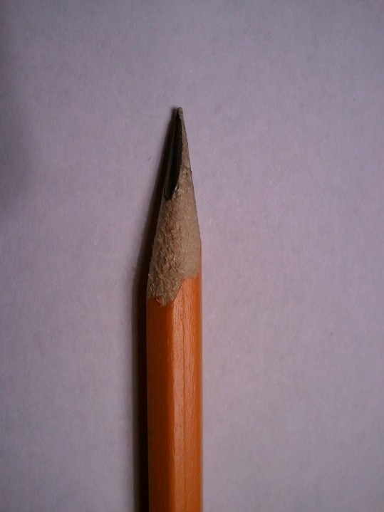 Led falling out of pencil!